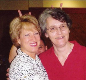 Wendy Burdette (left) and Ann