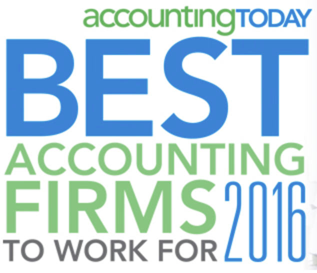 Accounting Today Best Firms to Work For 2016