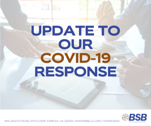 BSB Updated Response to COVID-19