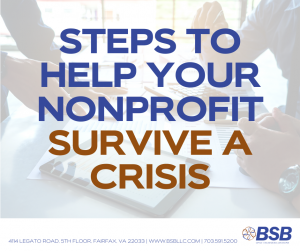 Steps to Help Your NFP Survive a Crisis