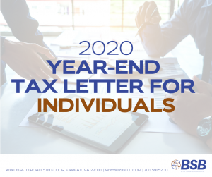 Year-End Tax Planning | www.bsbllc.com
