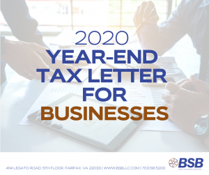 Year-End Tax Planning for Businesses | www.bsbllc.com