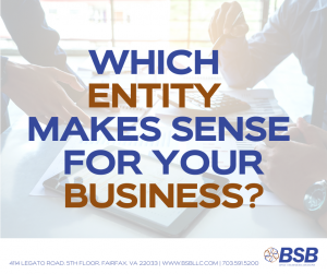 Which Entity Makes Sense For Your Business